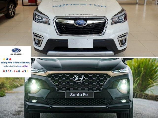 So sánh Subaru Forester 2019